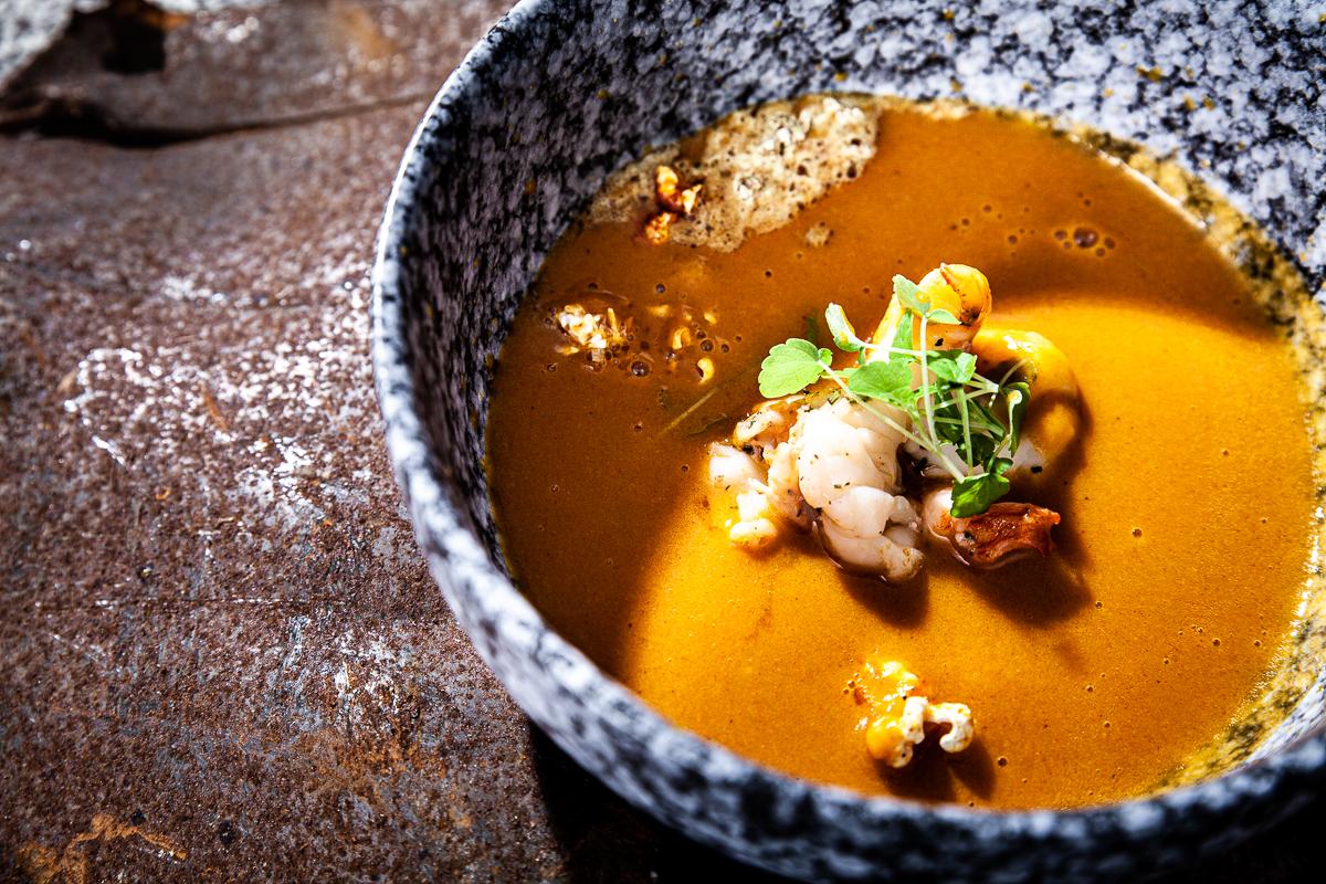 Foodfotografie Highleists Björn Leist Cremesuppe vom Butternusskürbis Professionelle Fotografie Johannes Ruppel