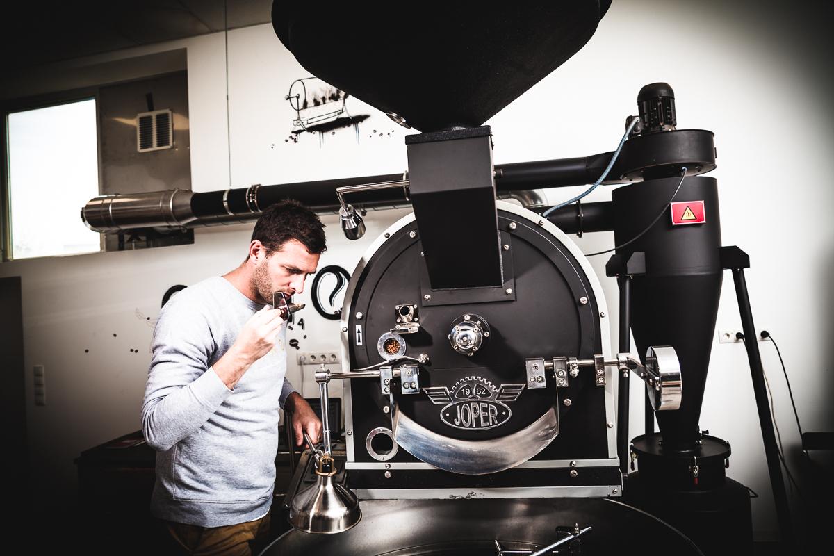 Reinholz Fotografie Produkt Still Portrait Kaffee rösten